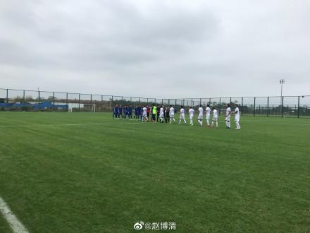 热身赛:钟纪宇破门郜林登场,石家庄永昌1-0天津天海