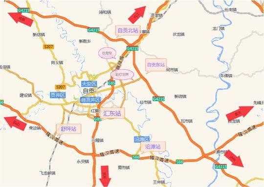 高速交警三支队发布自贡灯会高速公路观灯线路建议及应急预案