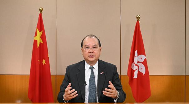 香港政务司司长张建宗:香港应融入国家大局,乘势而上图片