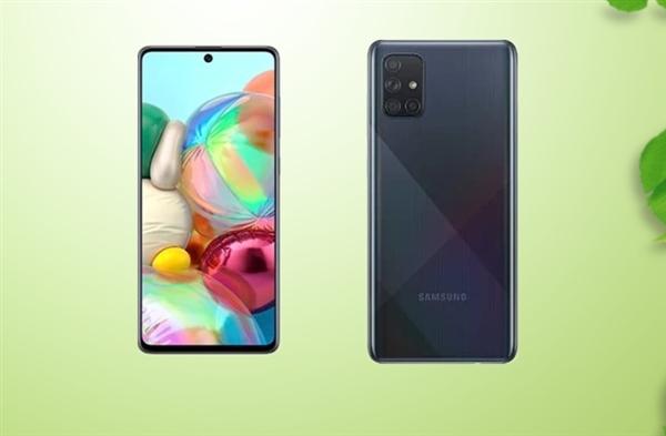 """三星Galaxy A71 5G曝光:搭载Exynos 980、方形四摄的廉价""""Note10"""""""