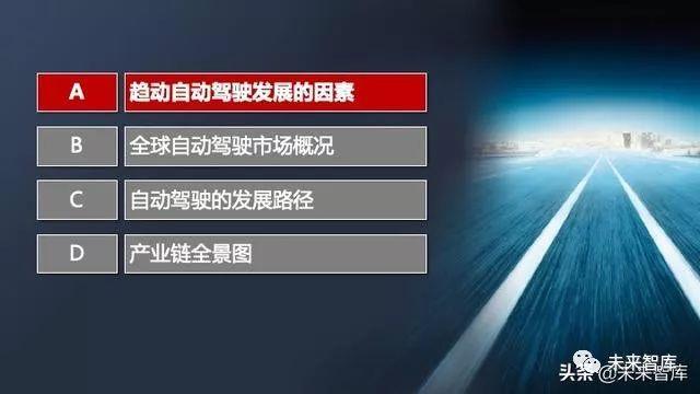 2020汽车自动驾驶发展路径和产业链全景图