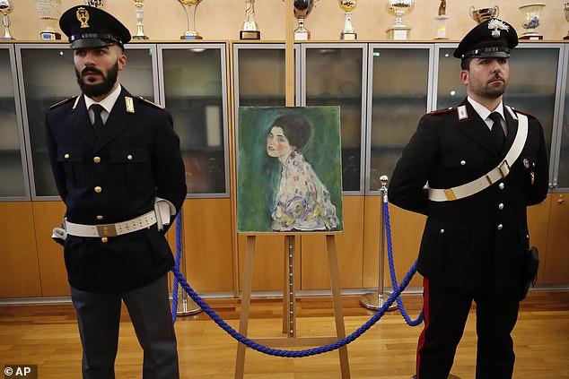 奥地利一幅消失23年的画作近日被找到。(图源:《每日邮报》)