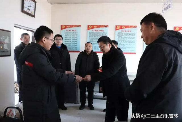 磐石市人大常委会主任张永福走访慰问困难党员、老党员和脱贫攻坚干部