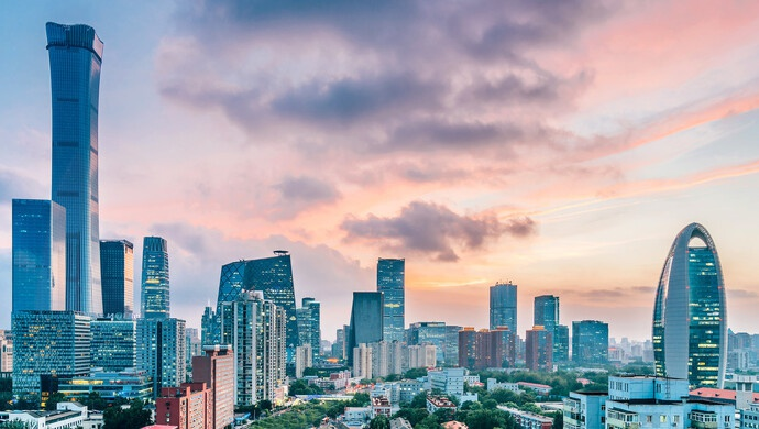 北京朝阳区进博会精彩推介:北京CBD和金盏服务区向国际一流迈进图片