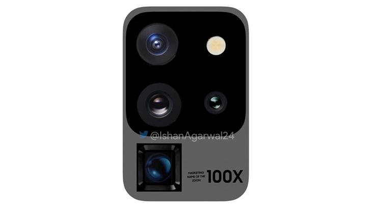 三星Galaxy S20 Ultra 5G最新相机图像曝光:潜望式摄像头+100倍变焦