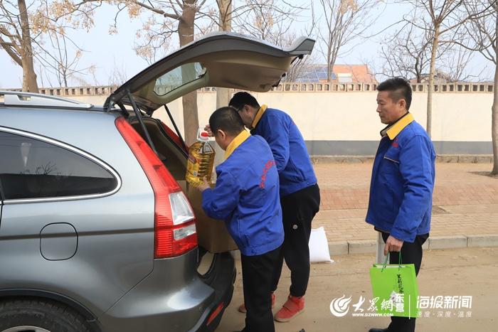 新春走基层|东营爱心企业情系困难儿童 春节慰问暖人心