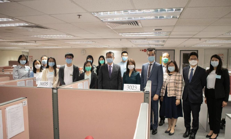 香港明年中或以网上填问卷形式进行人口普查图片