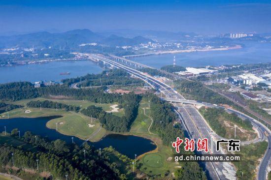 中建四局助力惠州市跨东江大桥建成通车