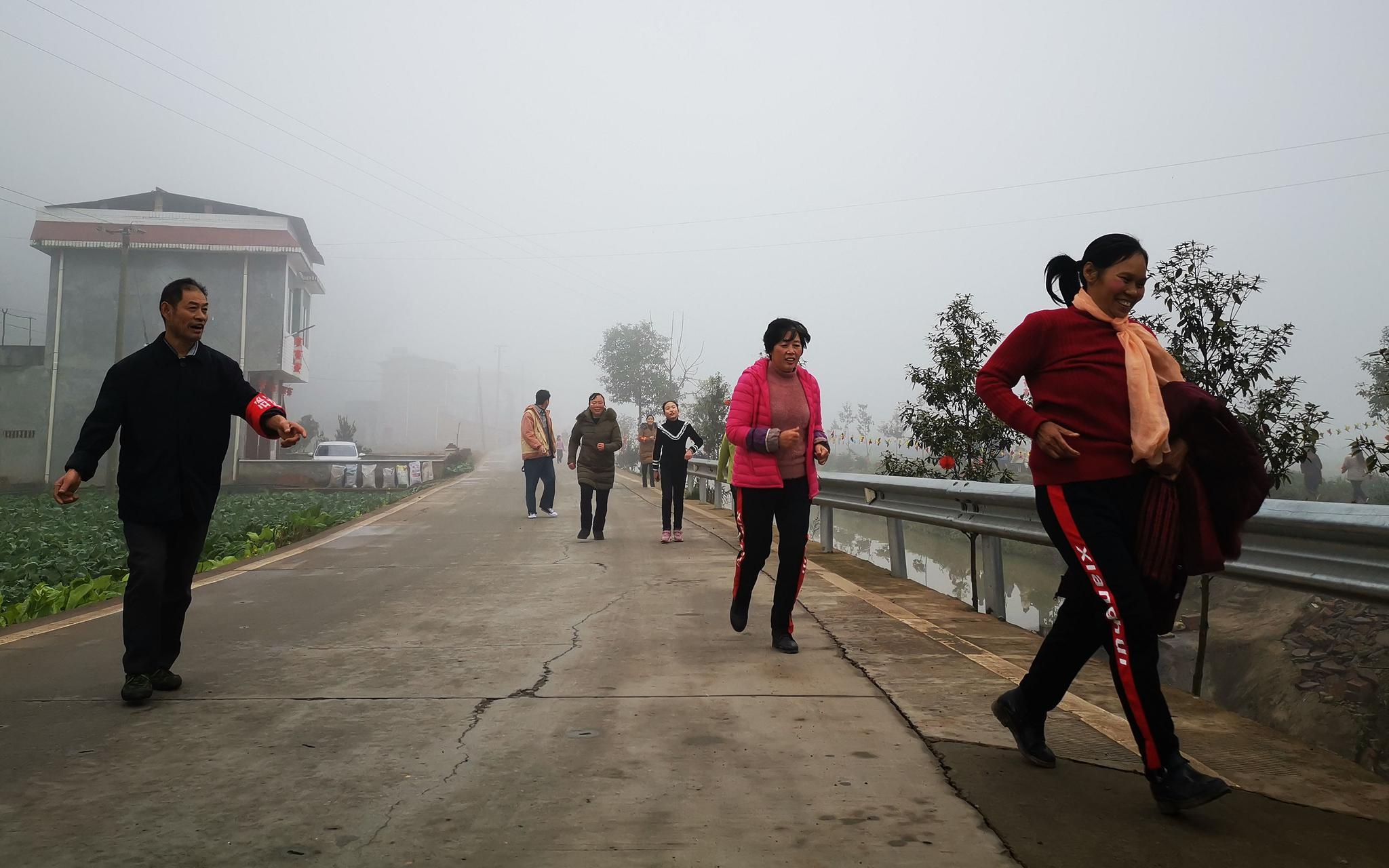 用一场乡村马拉松 开启四川宝镜村新年图片