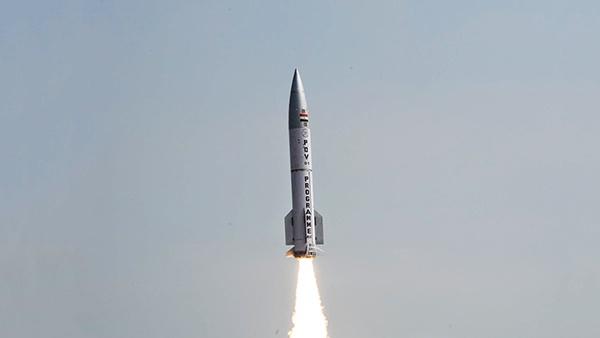 印度PDV拦截弹,主要负责高层反导