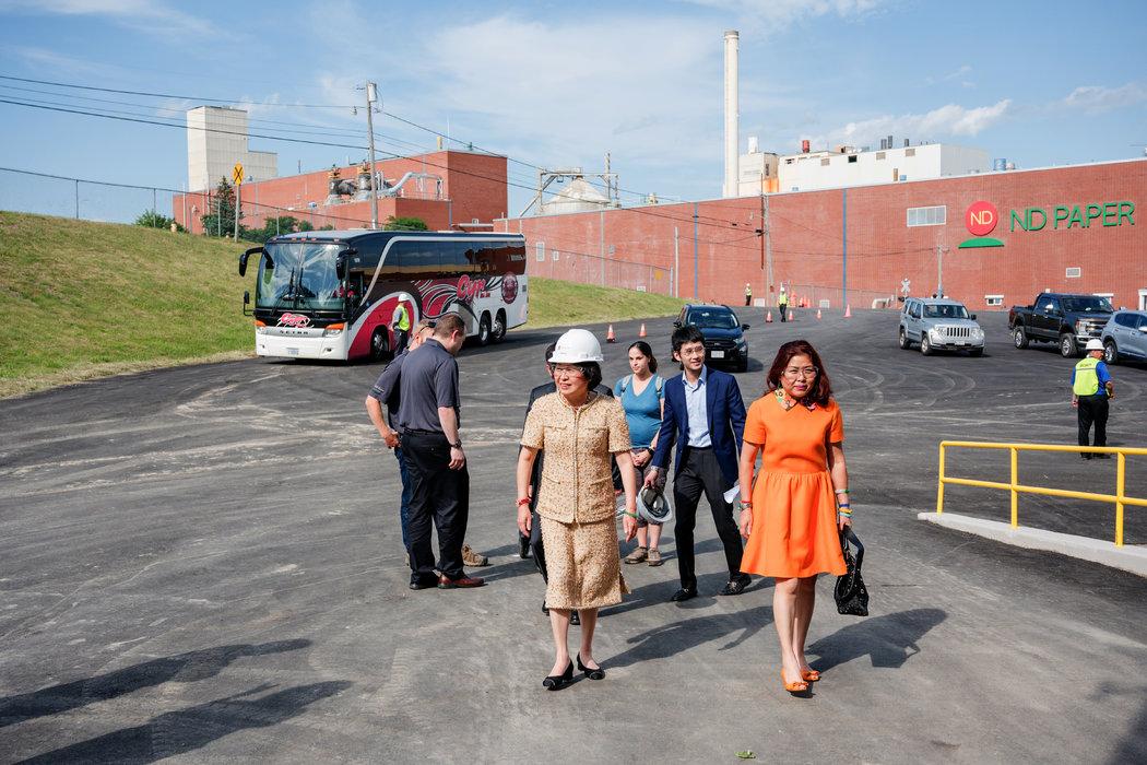 中国女商人让美纸厂重生却遭当地指责:占我们便宜