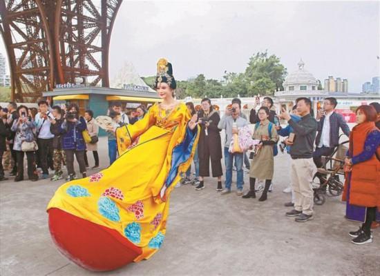 深圳世界之窗国际街头艺术节开幕