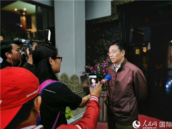 中国新任驻东盟大使邓锡军抵雅加达履新