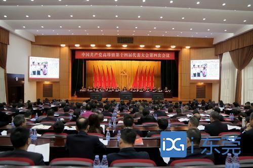 中国共产党高埗镇第十四届代表大会第四次会议召开