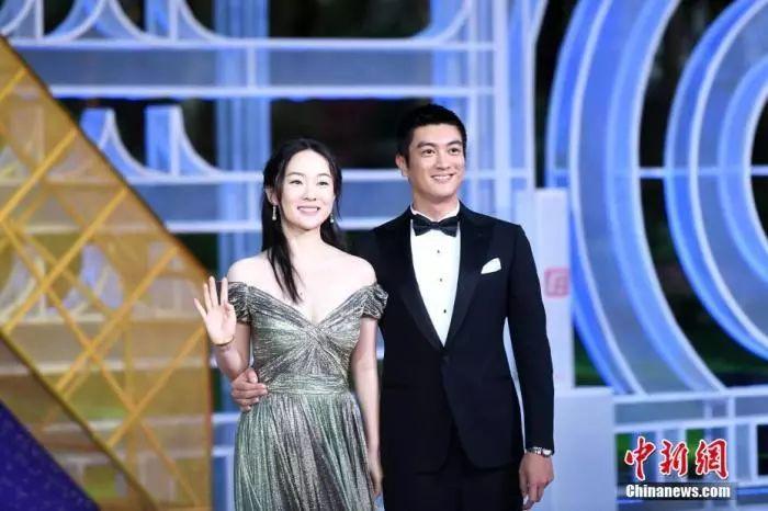 资料图:杜江、霍思燕。 中新社记者 王东明 摄
