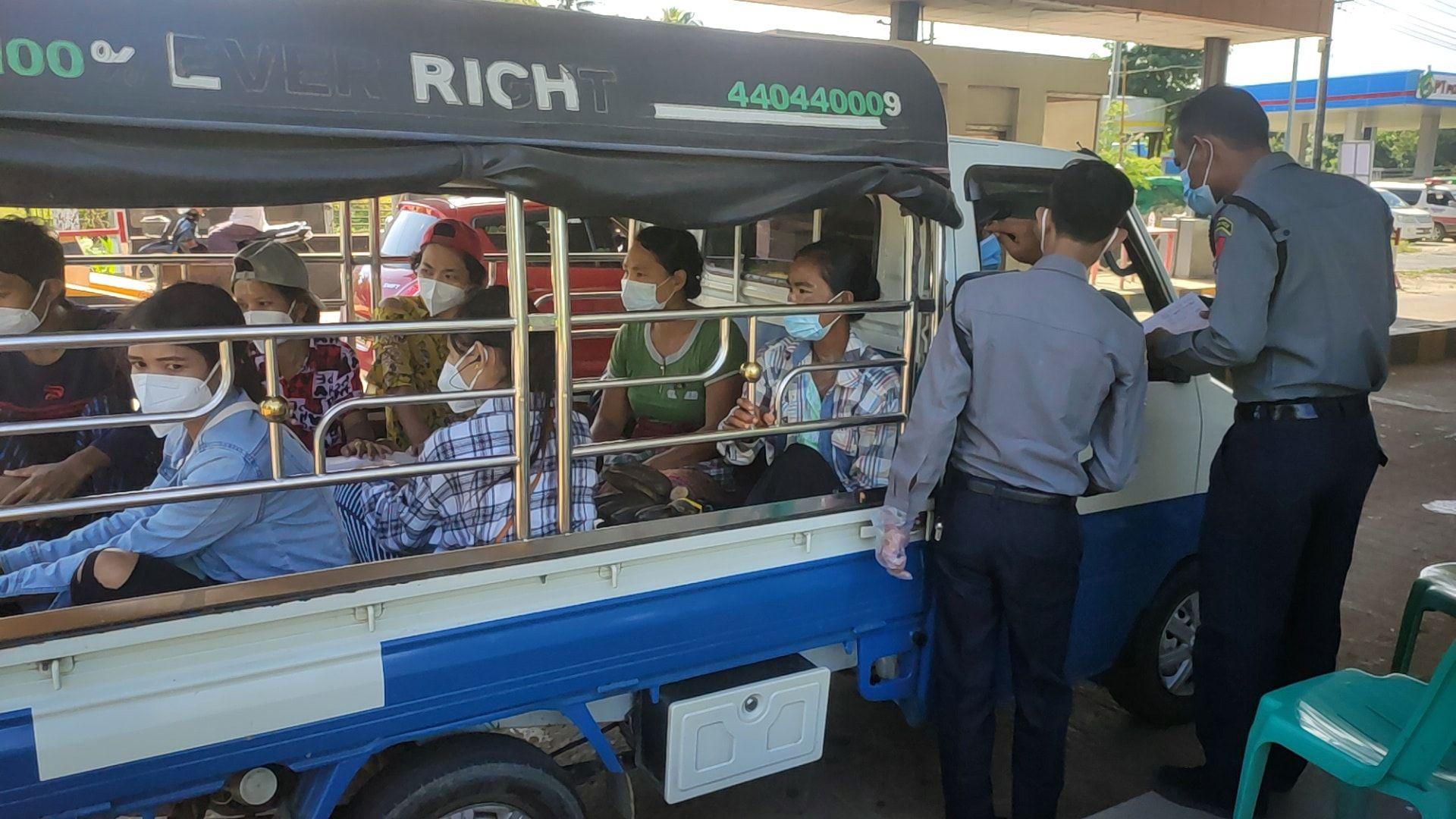 缅甸大选投票返村夫员中发明79例新冠肺炎确诊病例(图1)