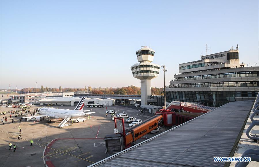 GERMANY-BERLIN-BERLIN TEGEL AIRPORT-CLOSURE
