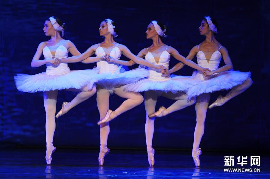 河北石家庄:俄罗斯芭蕾舞《天鹅湖》上演