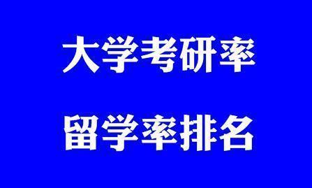 中国重点大学考研率统计:清华北大,北航、复旦交大…你的大学?