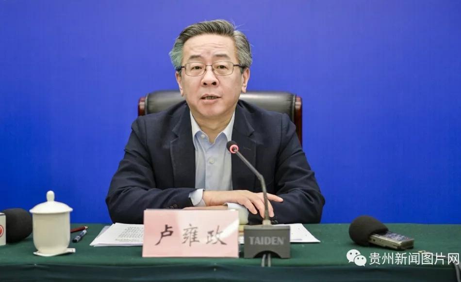 贵州省副省长卢雍政任贵州省委常委图片