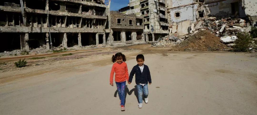 利比亚的儿童(图源:联合国官网)