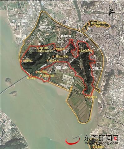 4家机构入围滨海湾新区威远岛森林公园概念设计国际竞赛