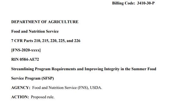 美国农业部提交新校园伙食营养标准提案,网友却闻到了拍马屁的味道