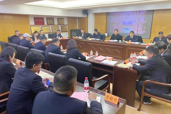 省机关事务局徐建刚副局长参加公车管理中心读书分享会