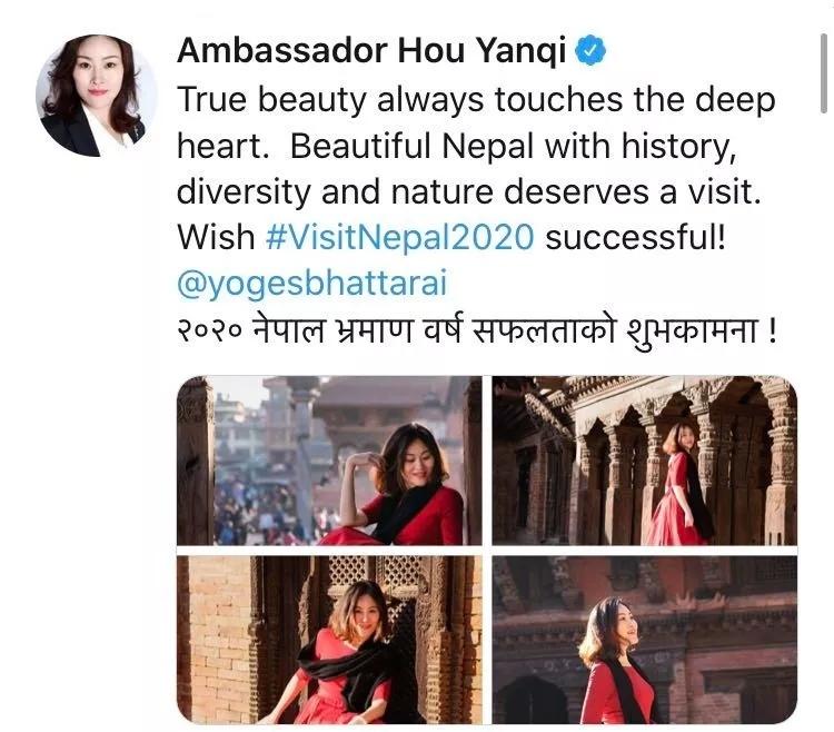 中国驻尼泊尔大使这一举动刷屏了 数小时点赞过千