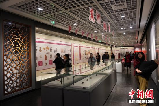 鼠年新春生肖文物联展在南京中国科举博物馆揭幕