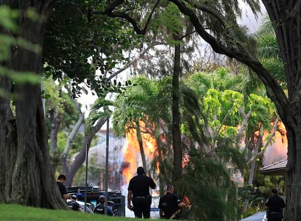美国夏威夷檀香山市发生枪击案。(图源:美联社)