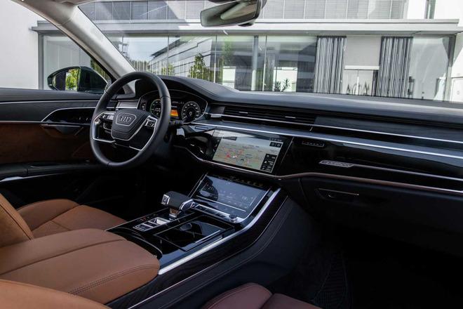 奥迪A8混动版北美起售9.4万美元 纯电续航40公里