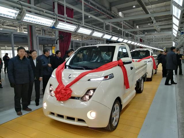 松果新能源汽车首款量产车型试装车下线:颠覆百年汽车工艺 未投产已签订60亿美元订单