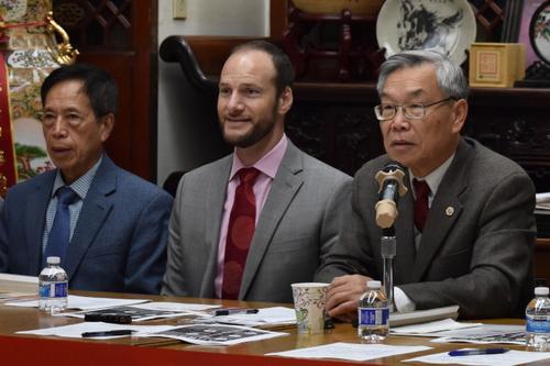 华裔法官候选人现身旧金山中华总会馆 冀获华裔支持