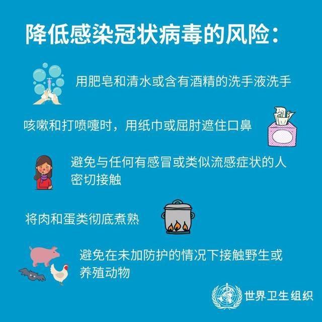 来自世卫组织:这份冠状病毒防护手册请收好