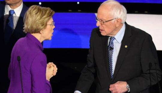 桑德斯获关键议员举荐,民主党进步人士为何力挺他