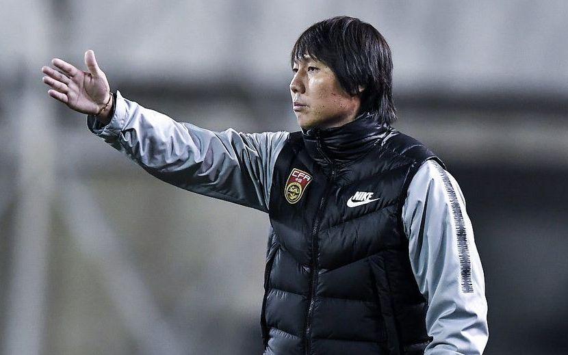 国足主教练李铁。图/Osports