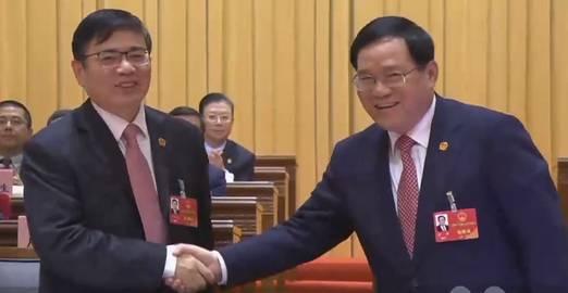 上海正部级岗位调整 蒋卓庆当选市人大常委会主任图片