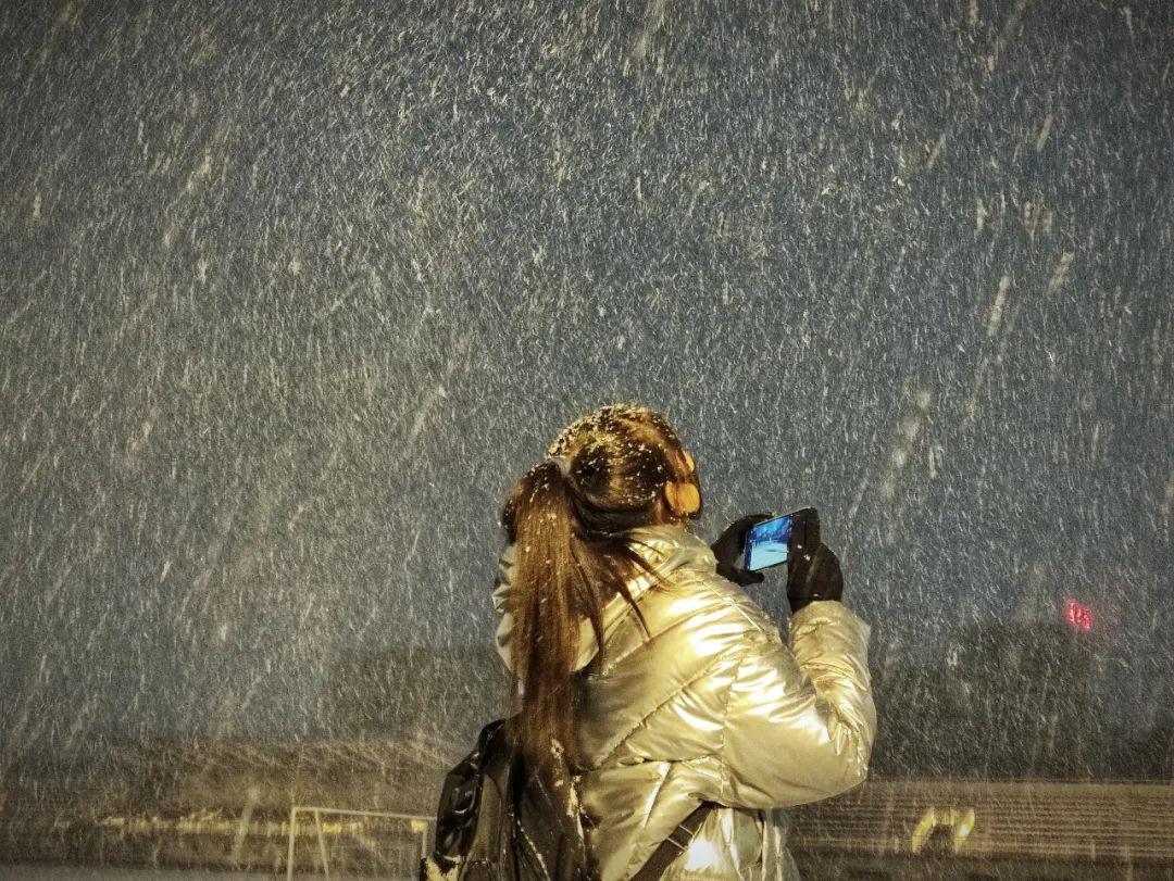"""看!宁大最可爱的""""雪人""""来啦图片"""