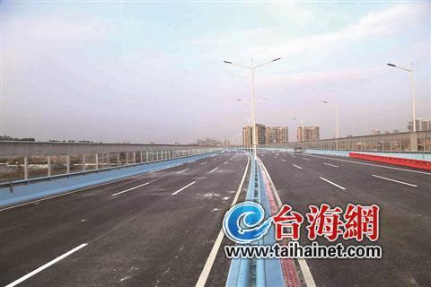 同集路主跨线桥正式开放