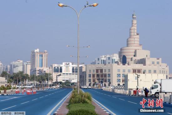 资料图:卡塔尔首都多哈。