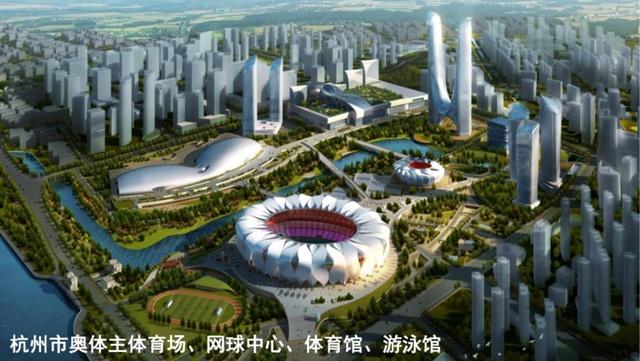 《第19届亚运会杭州市场馆及设施专项规划(草案)》正在公示,来看看都有啥