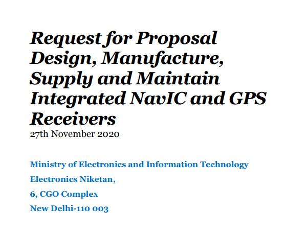 印度希望本土芯片制造商能够推动NavIC和GPS接收器产业链的发展