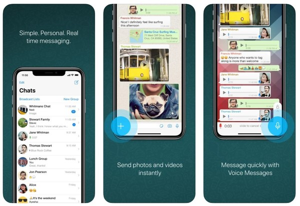iOS版WhatsApp更新:增加新的墙纸和贴纸搜索功能
