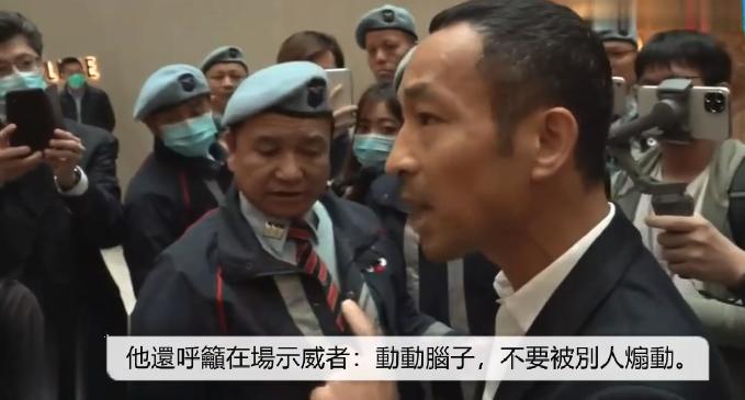 香港暴徒被市民当面训斥:动动脑