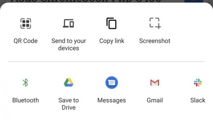 谷歌测试Chrome全新共享界面:加入二维码生成器并内置截图工具