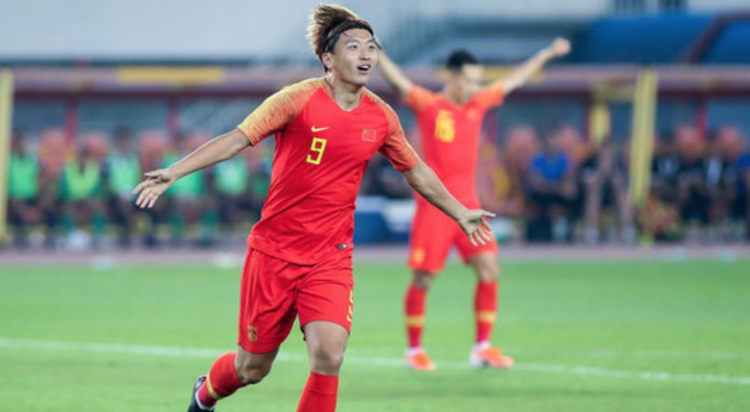 热身赛-国足1-0武汉卓尔,杨旭进球