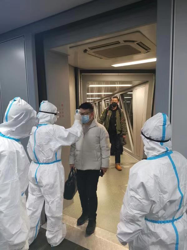 杭州宁波温州台州义乌等机场对武汉进港航班体温检测