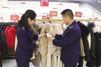 新城区市场监督管理局加强对春节市场的全面监督检查