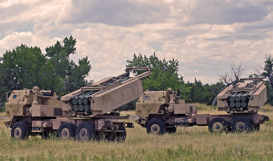 M142轮式自行火箭炮部署机动性非常优秀
